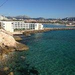 Quartos com varanda frontais ao mar