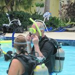 free Discover Scuba in hotel pool