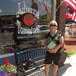 A great lunch at Julienne Tomatoes!