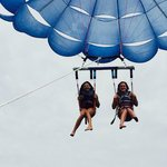 parasailing with Dockside