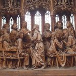 Altarpiece of the Last Supper.