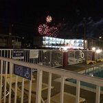 The fireworks