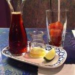 Honey Lime Thai iced tea! Yummy!!!
