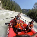 Kicking Horse River Middle Canyon)