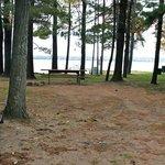 beachside campsite
