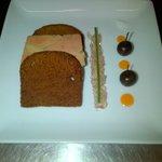 terrine de foie gras pain d'épices