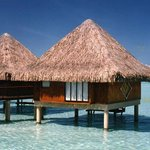 the Moana overwater bungalows when brand new