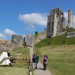 Really fun to explore Corfe Castle