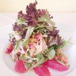 The Wineport's Arran Hot Smoked Salmon & Pink Grapefruit Salad