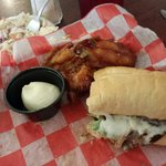 Wings and Philly sub