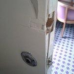 Adjoining rm door