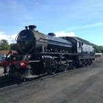 The Harry Potter Train. Or if you want to be picky the Jacobite steam train! :)