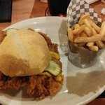 Pork Tenderloin Sandwich @ Pinnacle Sports Grill