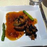 Veau très très tendre et foie gras poêlé exquis !
