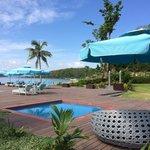 Huma main pool and deck