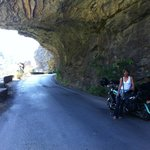 Taygetos road to Mystras
