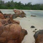 les blocs de granit des seychelles