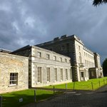 Carton House basking in late afternoon sun with rain looming