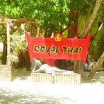 Entry to Royal Thai restaurant