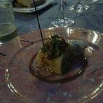 foie con  manzana y membrillo (media racion era para compartir)