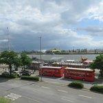 Tour  Start am Hafen