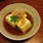 Agedashi tofu... Must try!