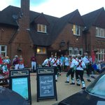 Morris dancers at The White Horse