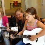 Guitar lesson at MIM