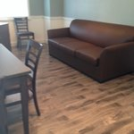 Cottage 4 Living Area-Sofa Sleeper
