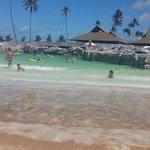 Praia de ondas artificiais.