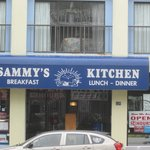 Sammy's Kitchen sign