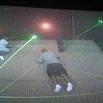 grandparents enjoying lazier maze