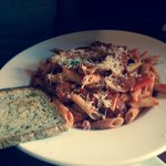 Gluten free penne - looked good, but was bland