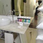 Bathroom amenities, great selection