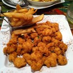 Fried White Shrimp