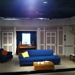 See the Ricardo's livingroom from I Love Lucy