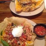 Taco Salad & Chicken Pasta