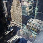 タイムズスクエア方面の眺め