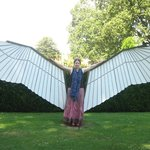 one of Edgar Phillips' cool wing sculptures