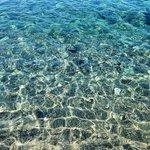 Il mare davanti al Kalimera Mare