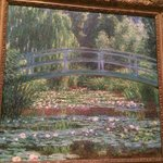 Monet, Japanese Footbridge and the water lily pool, Giverny