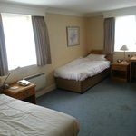 Room 223, terrible layout, dated, dirty and hot