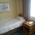 Room 223, terrible layout, uncomfortable small single beds