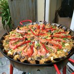From our Paella class!