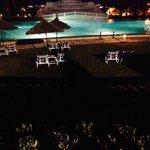 piscine le soir