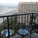 King Oceanview Suite Room 1525 - Front balcony (living room)
