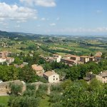 View from the top of San Gimignano
