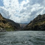 80 mile raft trip in Hells Canyon June 2014