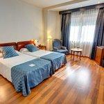 Camera da letto della Junior Suite Classic