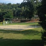 Beach Volley Ball Area and Archery